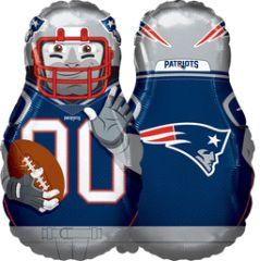 Patriots NFL Player 39in