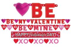 Valentine Value Pack Banners, 4ct