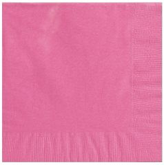 Big Party Pack Bright Pink Luncheon Napkins, 125ct