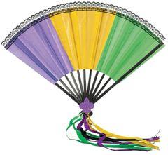 Mardi Gras Deluxe Fan