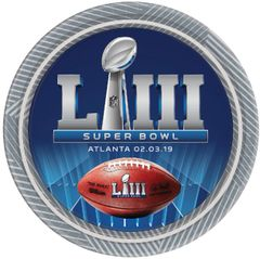 Super Bowl Lunch Plates, 18ct