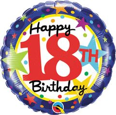 "18th Birthday Stars 18"""