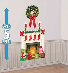 Holiday Hearth Scene Setters Plastic Add-Ons
