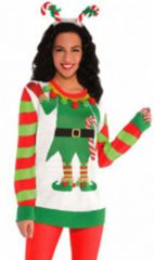 Elf Ugly Sweater Deluxe - Adult L/XL