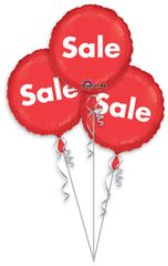 """POP Sale 3-Pack Balloons 18"""""""