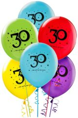 """30"" Printed Latex Balloons"