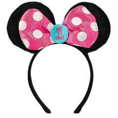 ©Disney Minnie's Fun To Be One Novelty Headband