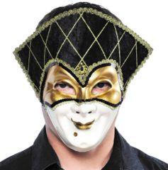Golden Jester Mask