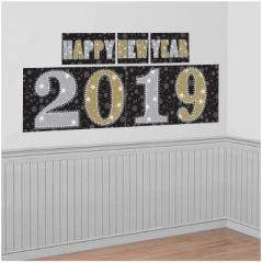 """2019"" New Year's Scene Setters® Decorating Kit"