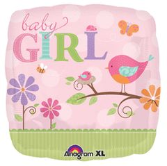 Tweet Baby Girl Foil 18in