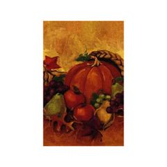 Harvest Still Life Paper Table Cover