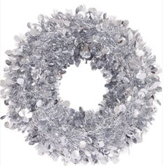 Silver Jumbo Wreath