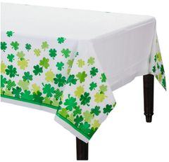 Blooming Shamrocks Table Cover