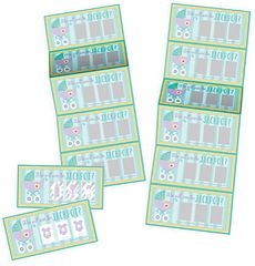 Baby Shower Scratch Off Cards, 12ct