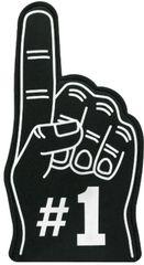 Black #1 Foam Finger