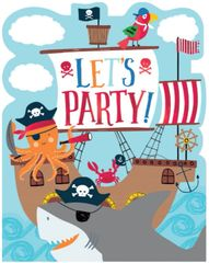 Ahoy Birthday Invitations, 8ct