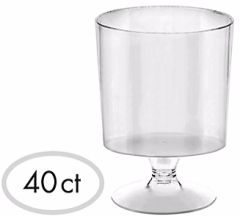 Tiny Pedestal Cup - Clear
