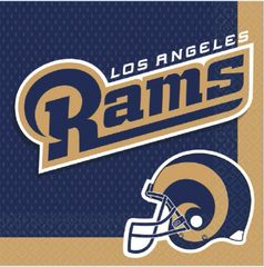 Los Angeles Rams Lunch Napkins, 16ct