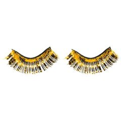Yellow Tinsel Eyelashes