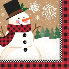 Winter Wonder Beverage Napkin