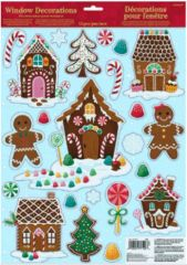 Gingerbread House Window Decorations