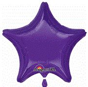 Star 27 Quartz Purple Mylar Balloon 18in