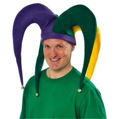 Giant Jester Hat with Bells