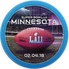 """Super Bowl LII"" Dinner Plates"