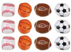 Vinyl Sports Balls 12ct