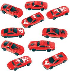 Valentine Race Cars, 10ct