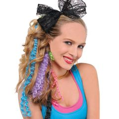 80's Crimped Hair Extensions, 4ct