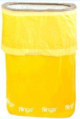 Yellow Sunshine Flings® Bin - Pop-Up Trash Bin