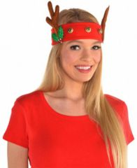 Reindeer Jingle Head Wrap
