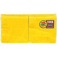 Yellow Sunshine Big Party Pack Luncheon Napkins