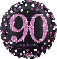 "Pink 90th Celebration 18"""