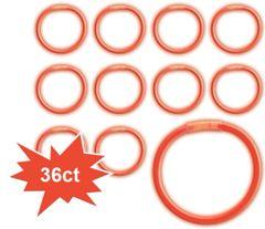 Red Glow Bracelets, 36ct