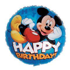 Mickey Happy Birthday 18in