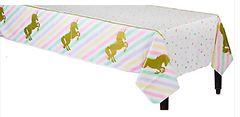 Unicorn Sparkle Table Cover