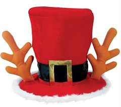Mad Hatter Christmas Hat