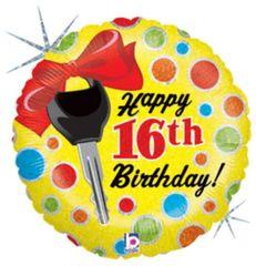 "16th Birthday Dots 18"""
