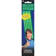 "8"" Green Glow Sticks"