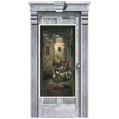 Asylum Corridor & Door Cover Decoration