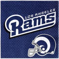 Los Angeles Rams Luncheon Napkins, 16ct