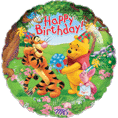 Pooh and Friends Birthday HX