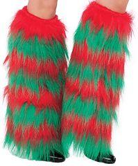 Elf Furry Leg Warmers
