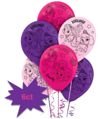 ©Disney Palace Pets Latex Balloons, 6ct