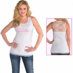 Elegant Bride Tank Top, S/M