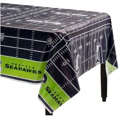 Seattle Seahawks Plastic Table Cover