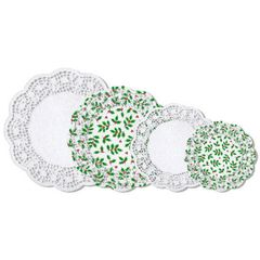 Holly Multipack Doilies