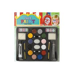 Deluxe Face and Body Paint Kit